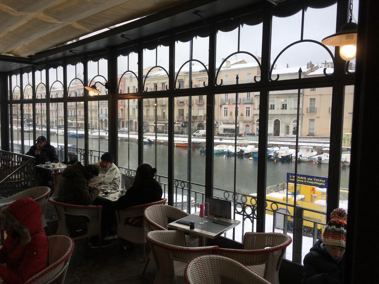 Puis au Café une crêpe contre le froid !