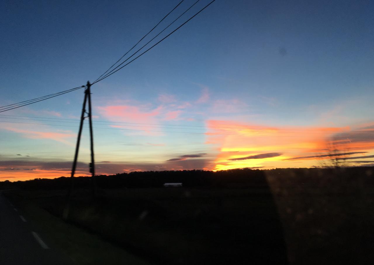 Sunset Provencal