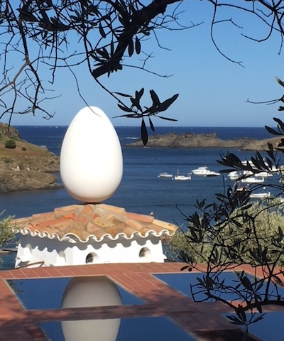 View on Port Lligat and the Egg