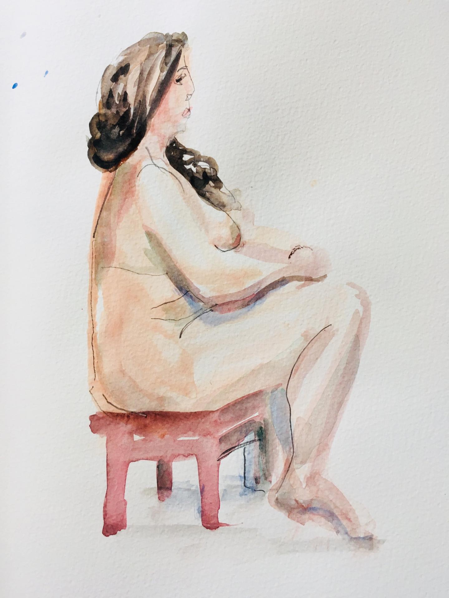 15 Minuten-Pose