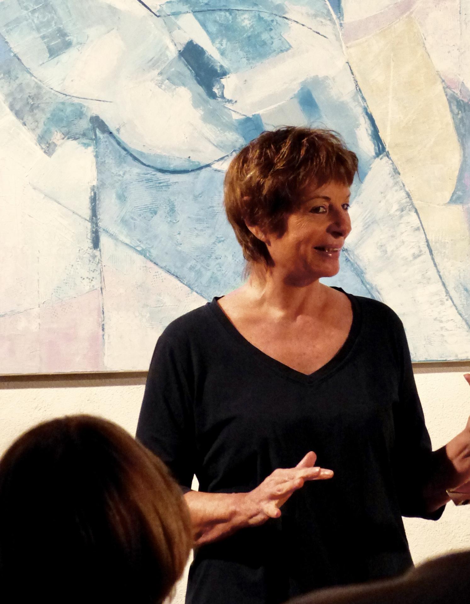 Mady Mantelin récit Dario Fo à l'Atelier Maison