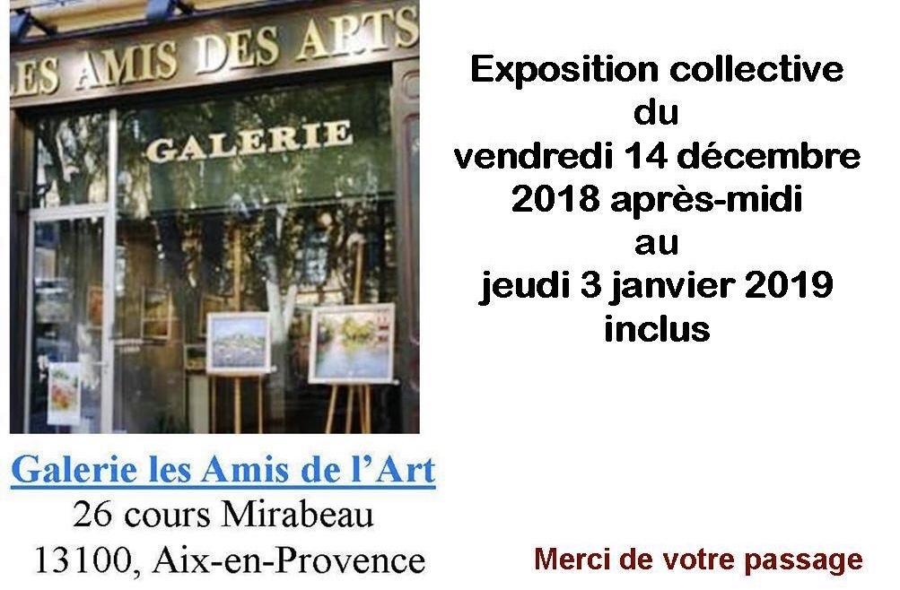 EXPOSITION COLLECTIVE EN AIX-EN-PROVENCE