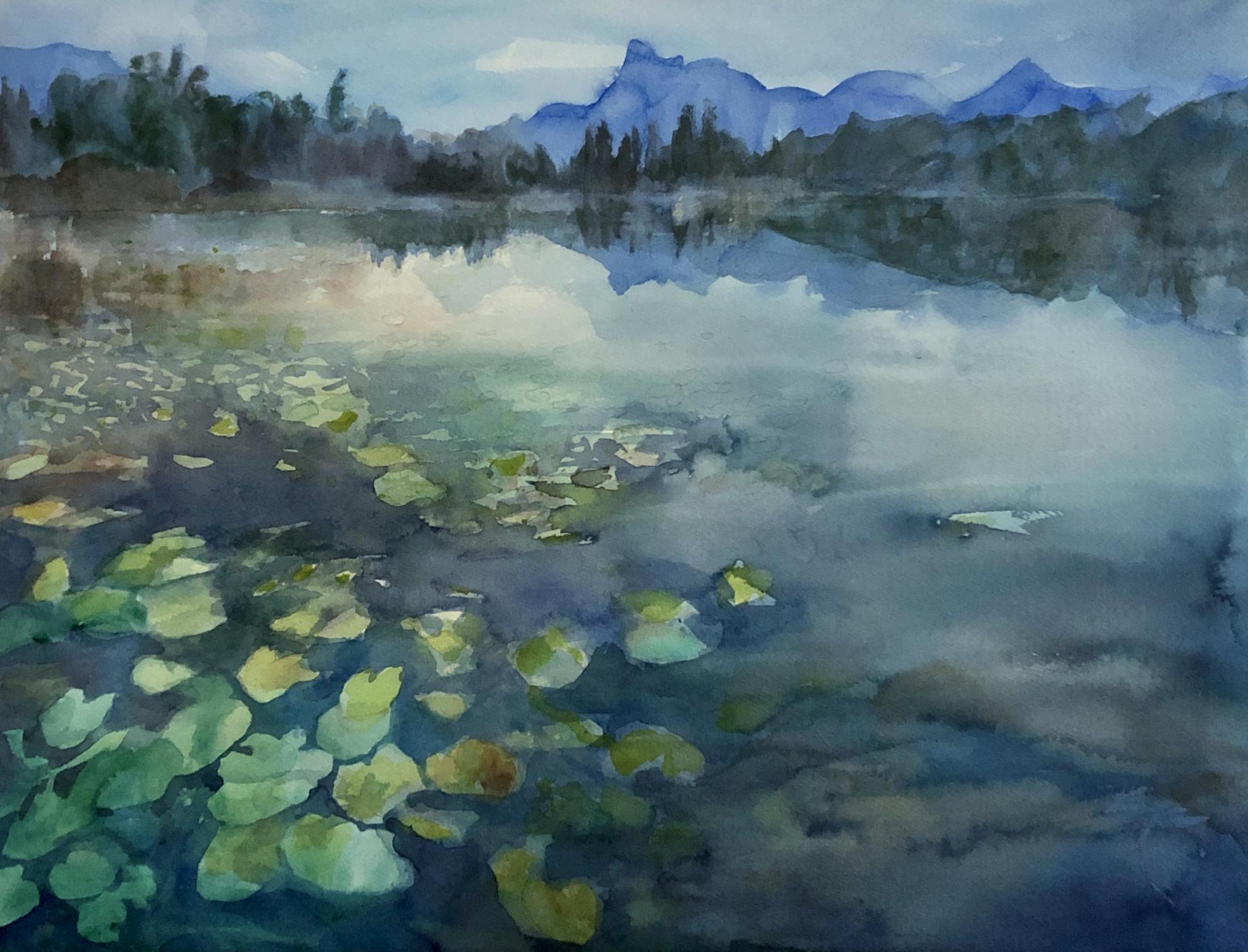 MOUNTAIN LAKE with thanks to Benjamin Waldmann