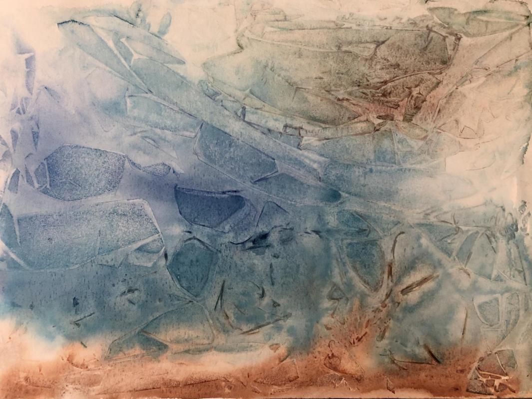 VEGETALIS  Aquarelle & Vegetal Imprints