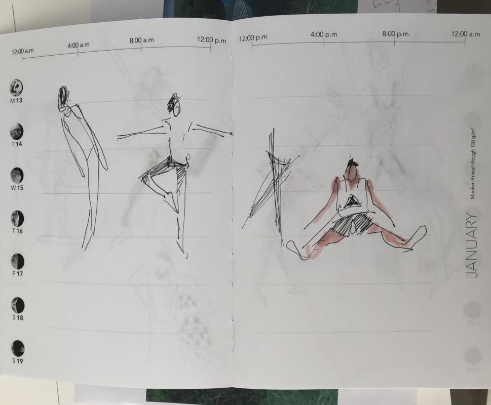 CROQUIS BALLET REPETITION