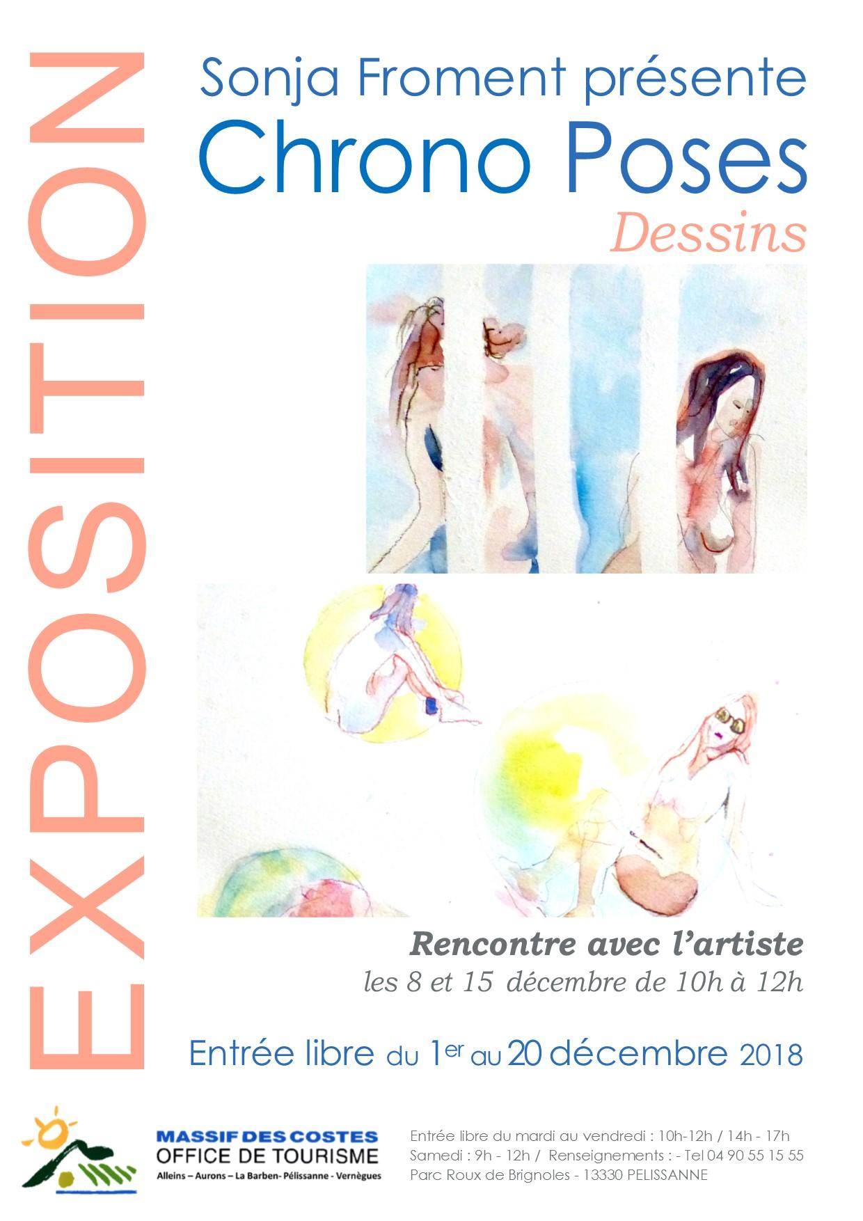 EXPOSITION DE CROQUIS DU MODELE VIVANT