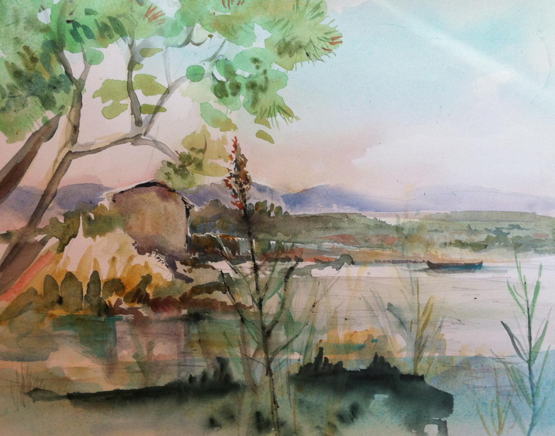 La Petite Camargue sur l'Etang de Berre