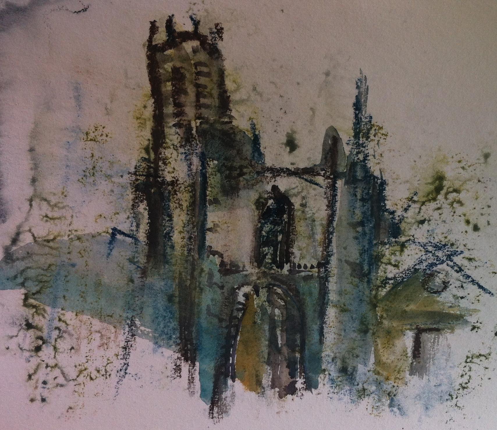 Der schiefe Turm von Pisa in Aix