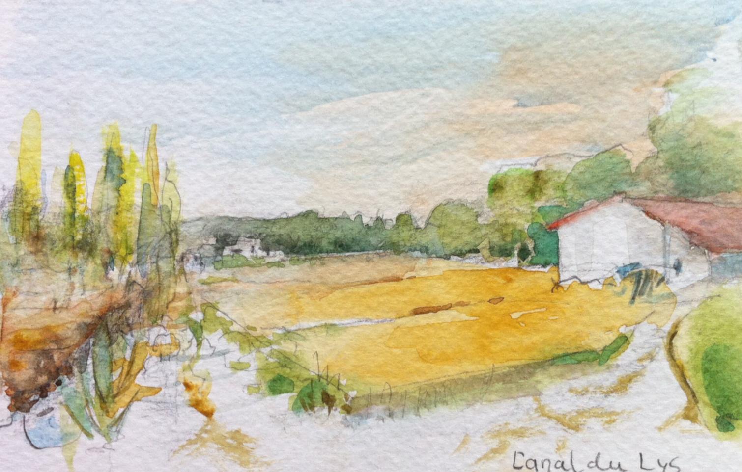 Cornillon, La plaine du Lys