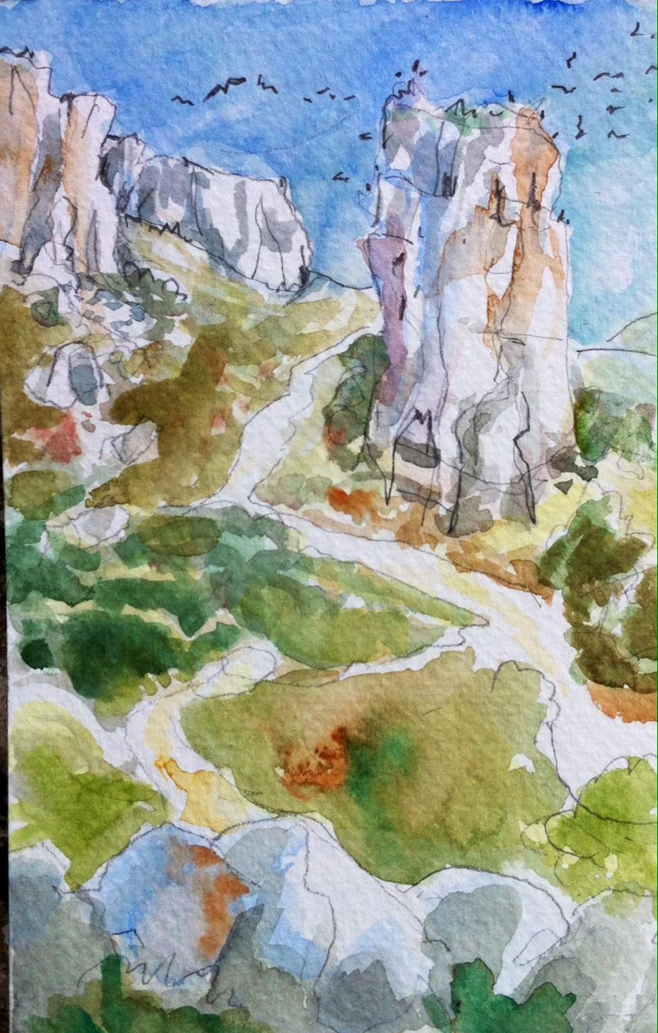 Les Rochers de Calissanne